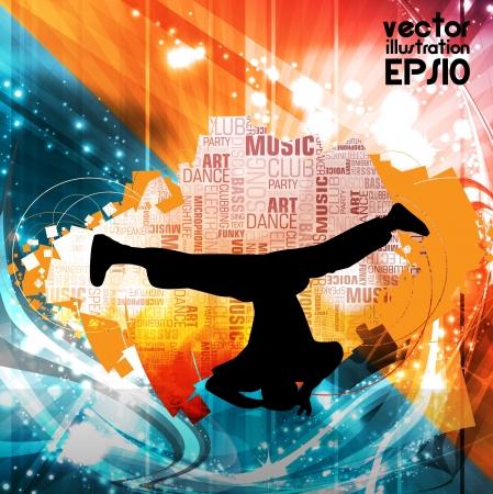 Disco music illustration Stock Vector - 16140678