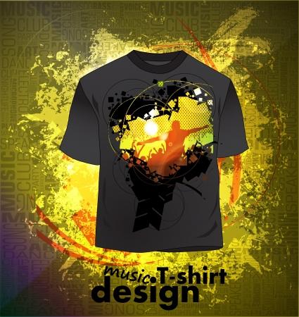 Party T-Shirt design Stock Vector - 16140692
