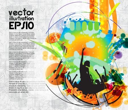slovenly: Music event illustration