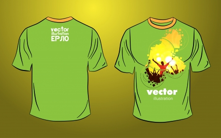 Party T-Shirt template vector design  Vector
