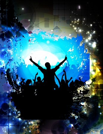 discoteque: Discoteque music background Stock Photo