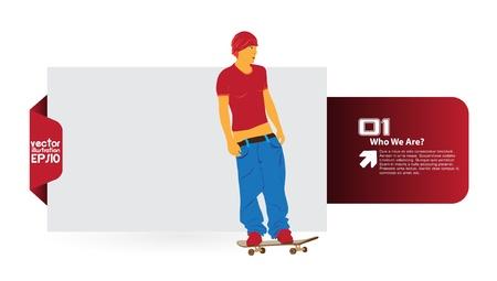 Skater Stock Vector - 16379863