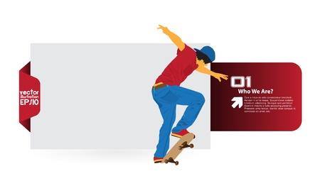 Skater Stock Vector - 16379888