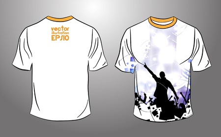 raglan: T-shirt design  Vector