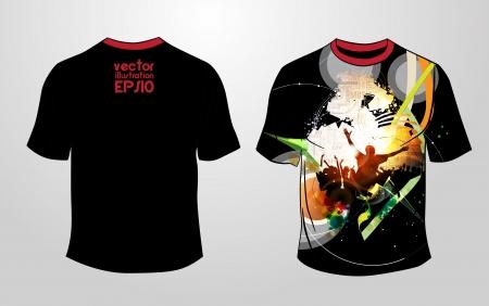 raglan: T-shirt design  Vector