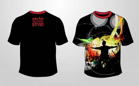 T-shirt design  Vector  Vector