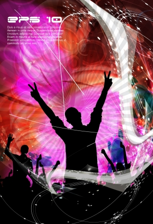 Concert. illustration Vector