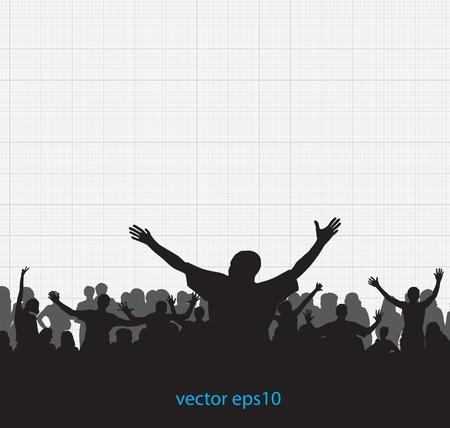 Music dance background Vector