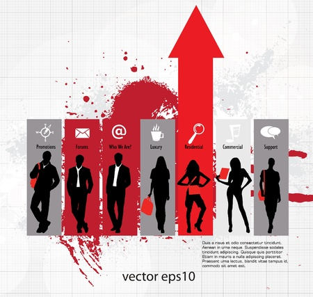 Business concept Stock Vector - 16737265