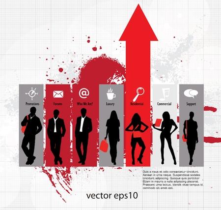forecast: Business concept