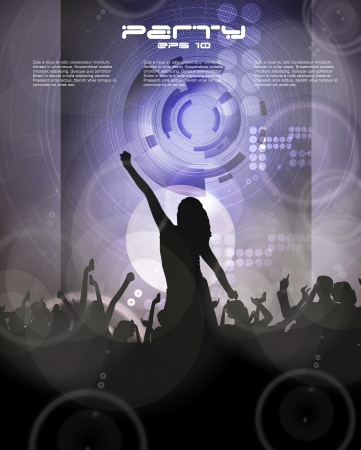 Music illustration Vector