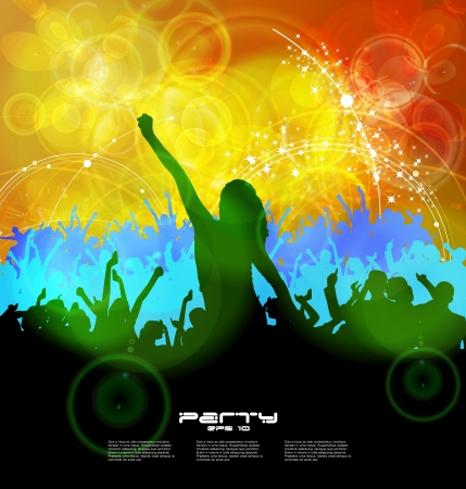 Music event background  Vector eps10 illustration Stock Vector - 16718083