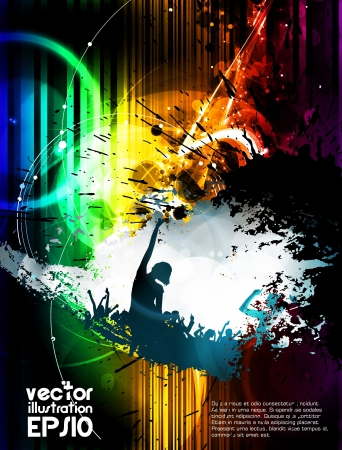Music event poster  Vector Stock Vector - 16937368