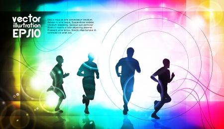 medical man: Sport illustration