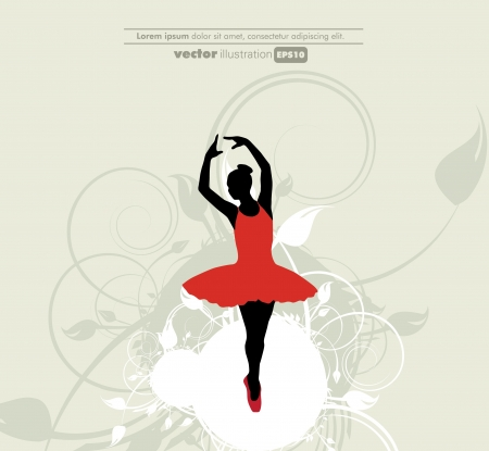 Ballet  illustration Vector