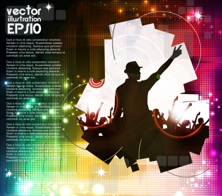 Music event poster  Vector Stock Vector - 17014670