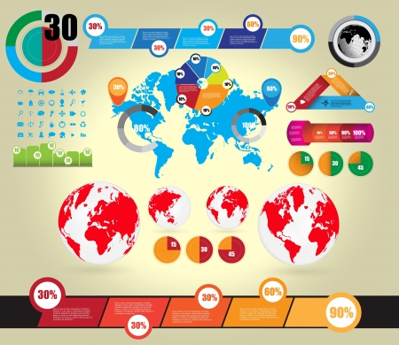 Infographic vector illustration Stock Vector - 16926749