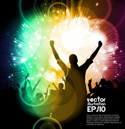 Music party Stock Vector - 17082132