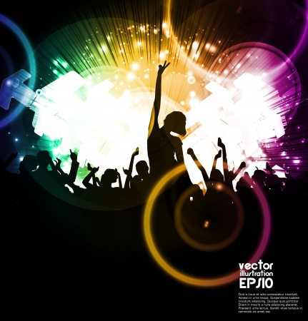 Music party Stock Vector - 17082169