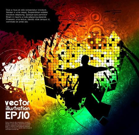 Music event vector illustration Vector