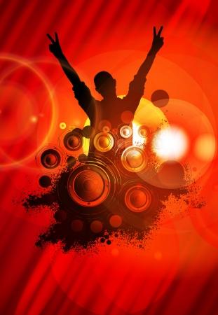 Music poster photo