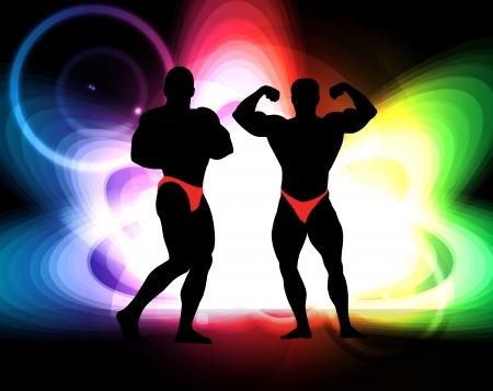 Bodybuilding. Stock Vector - 17247921