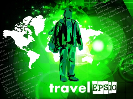 World Travel Vector