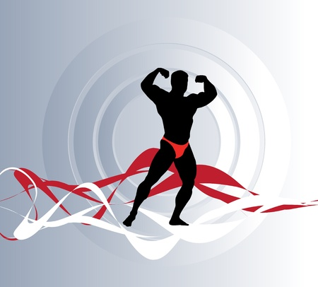 Fitness sign  Stock Vector - 17380937