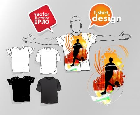 T-shirt design. Stock Vector - 17413322