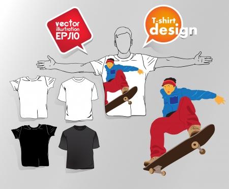 T-shirt design. Stock Vector - 17413263