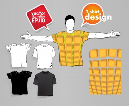 T Shirts Collection Vector