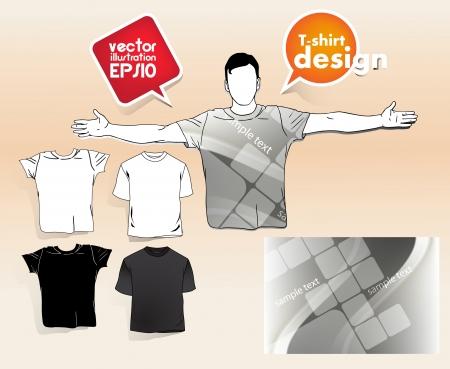 T shirt design. Stock Vector - 17413415