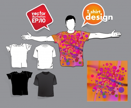 T-shirt design. Stock Vector - 17413428
