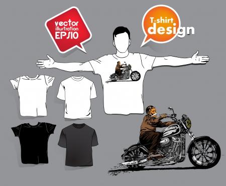 T-shirt design. Stock Vector - 17413435
