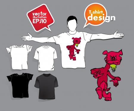T-shirt design. Stock Vector - 17413423