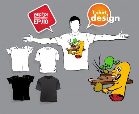 T-shirt design. Stock Vector - 17413424