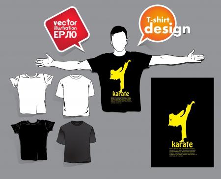 T-shirt design Stock Vector - 17413425
