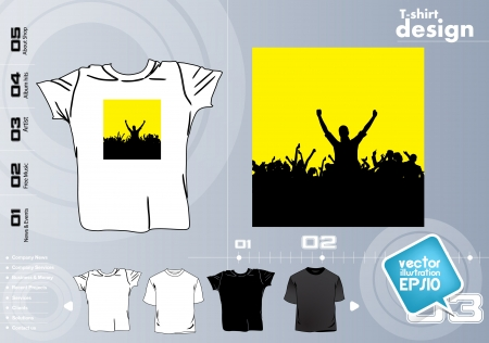 T Shirts Vector Collect Stock Vector - 17418412