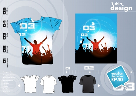 T Shirts Vector Collect Stock Vector - 17418428