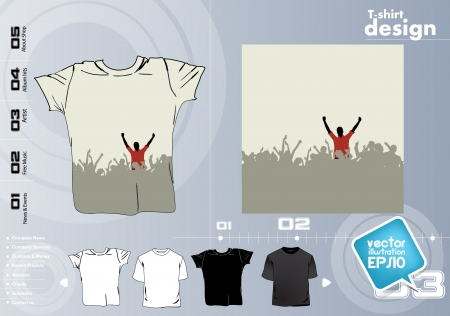 T Shirts Vector Collect Stock Vector - 17418423