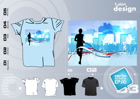 T Shirts Vector Collect Vector