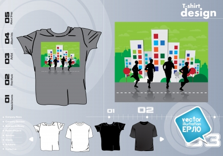 Vector. T-shirt design Stock Vector - 17418791