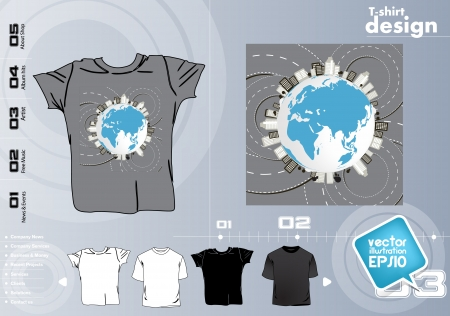 Vector. T-shirt design Stock Vector - 17418820