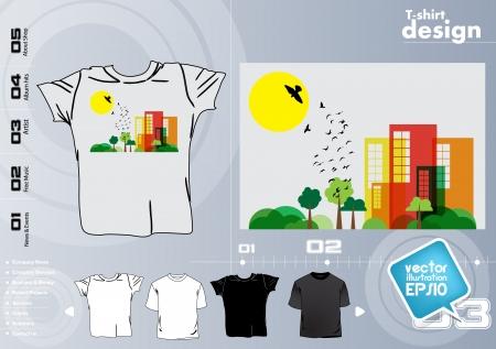 T-shirt design. Vector Stock Vector - 17418787