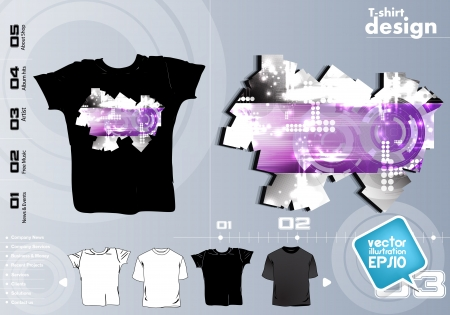 T Shirts Vector Collection Vector
