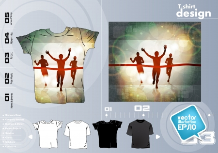 t shirts: T Shirts Vector Collection Illustration