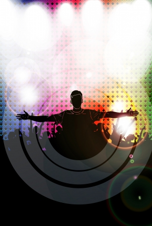 Music dance background. Vector Stock Vector - 17478242