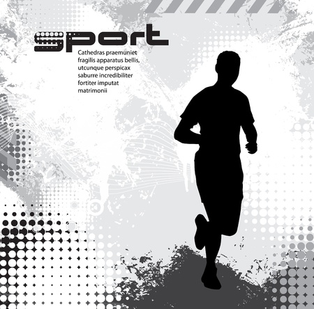 practicing: Sport illustrazione