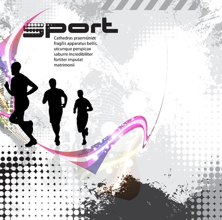 Sport illustration  Stock Vector - 17529867