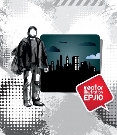 City travel Stock Vector - 17529902